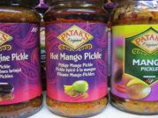 Patak`s Pickles, scharfes Mango Pickle, hot Mango Pickle, 283g